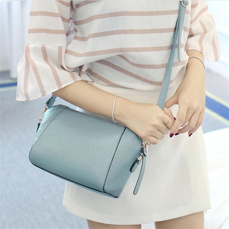 Trendy Japanese and Korean simple shell bag Fashion matches everything female bag small bag single shoulder Messenger bag 30