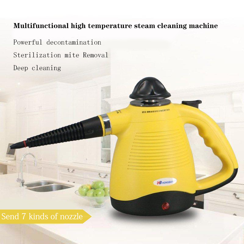 Multifunctional Handheld High-pressure Steam Cleaning Machine Car Washer Household Home Office Room Cleaning Appliances
