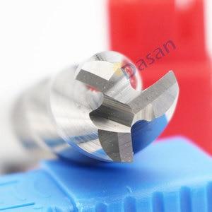 Image 3 - 1PC młyn aluminium 3mm 4mm 5mm 6mm 8mm 10mm młyn koniec bardzo długi HRC60 3 flet frez z węglika wolframu frezy narzędzie dla