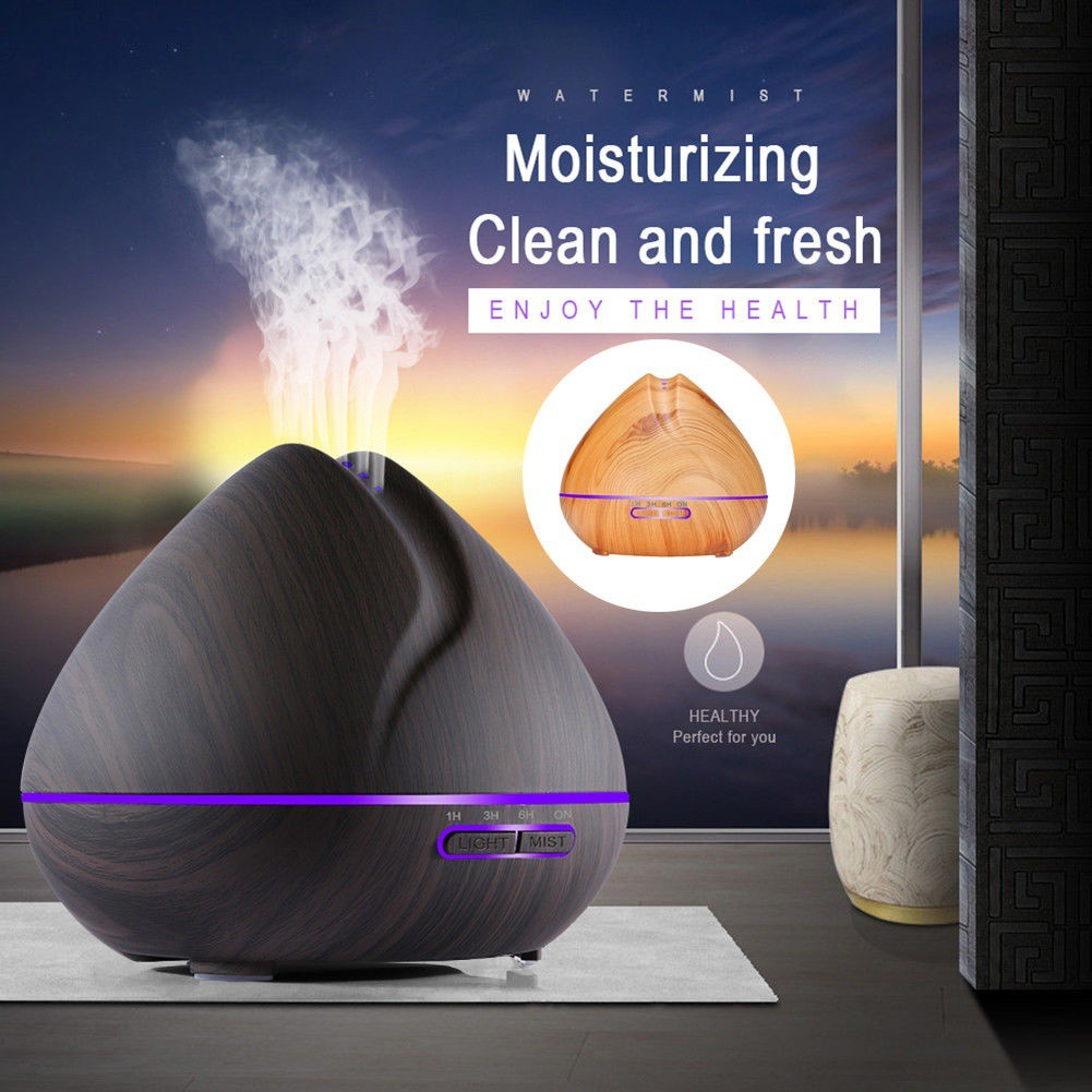 550ml Ultrasonic Humidifier Colorful Oil Diffuser with Remote Control Air Aroma Humidifier for Office Bedroom N30C550ml Ultrasonic Humidifier Colorful Oil Diffuser with Remote Control Air Aroma Humidifier for Office Bedroom N30C