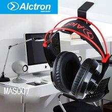 Aço MAS007 Destop Montar Titular Cabide Gancho fone de Ouvido fone de Ouvido Universal Prateleira Suporte Gaming Fones De Ouvido Estúdio DJ Com Parafusos