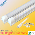 50pcs SMD 2835 Integrated LED tube T8 85-265V 18W 22W 1200mm 1.2M 4ft Led tubes 5 years warranty