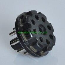 цена на 4pcs 8Pin Bakelite tube socket Octal Pin Plug Base For Guitar Amplifier Parts