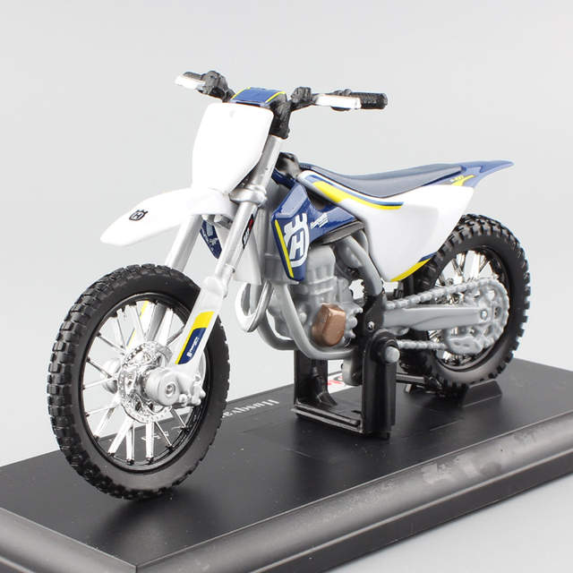 1/18 scale mini KTM Husqvarna FC 450 Motorcycle Enduro racing Diecast  modeling Motocross Replica metal auto car model Kids toys
