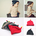Women and children baby child Douding cap wool jacket cap nipple cap warm wool knitted warm spire cashmere hat
