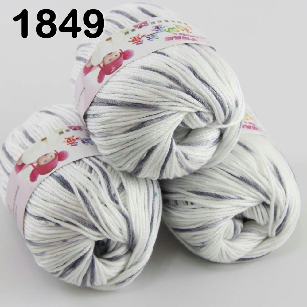 20 Colours Lots of 50g Soft Skein Sheep Cashmere Wool Knitting Thread Yarn,Lace