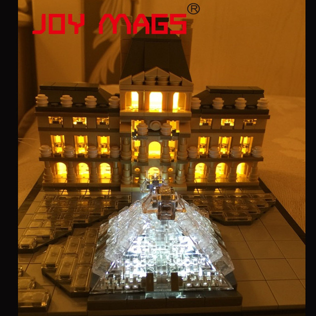 lego lighting. JOY MAGS Light Up Kit Led Building Blocks For Creator Louvre Compatible With Lego 21024 Lighting