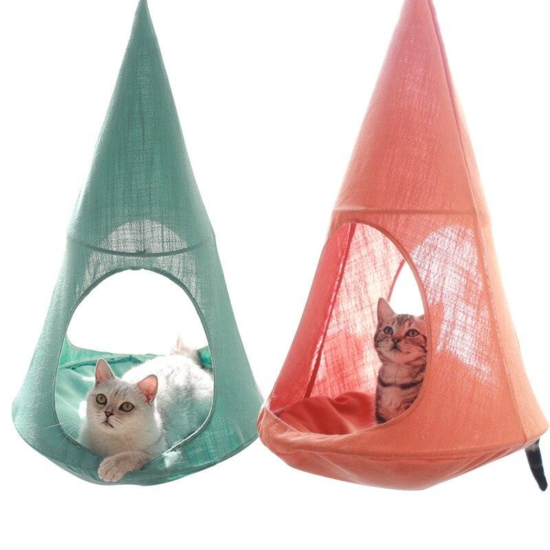 Lit pour chat maison pour chat hamacs pour chat tapis confortables lits suspendus hamac pour chien coussins Cages de lit souples pour petit chiot repose-lit