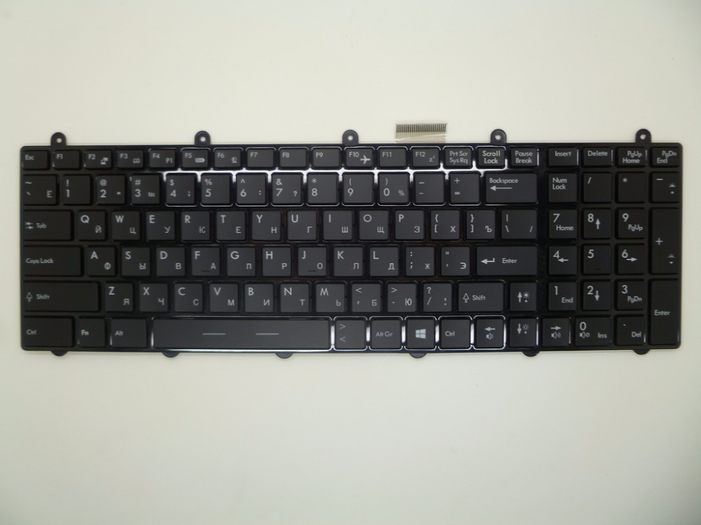 все цены на Laptop Keyboard For MSI GT783 V123322AK1 RU S1N-3ERU231-SA0 CH S1N-3ETC231-SA0 S1N-3EUS271-SA0 US S1N-3UUS2N1-SA0 V123322AJ1 JA онлайн