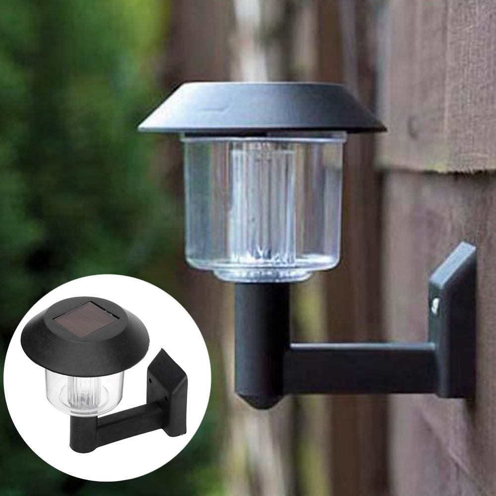ITimo Light Sensor Garden Fence Lamp Wireless Emergency Waterproof Solar Wall Lamp Christmas Light Outdoor Lighting