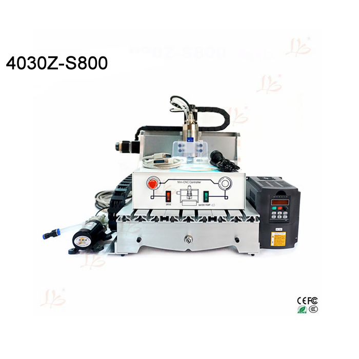 800W water cooling spindle cnc milling machine 3040 Ball screw mach3 control work fro wood pcb metal etc 1500w cnc router 8060 3axis usb port mach3 control ball screw for metal aluminum stell wood etc