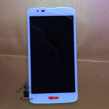"""1 pcs 5.0"""" New  Black /White Full LCD DIsplay + Touch Screen Digitizer Assembly For LG K Series K8 K350N K350E K350DS LTE 4G"""