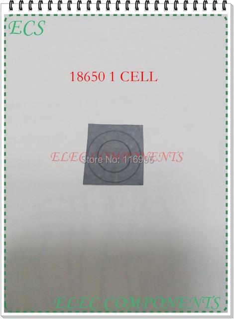 Livraison gratuite 200 pcs 1 cellules 18650 batterie isolation pad / isolation de la pile de papier / isolation / highland d'orge papier