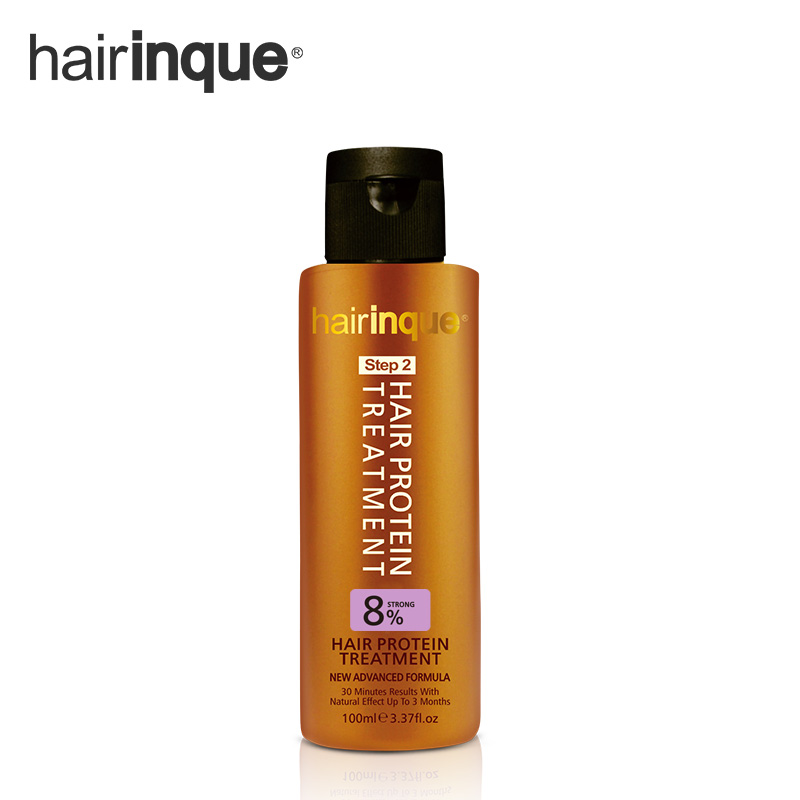 HAIRINQUE 8% keratin hair treatment for middle East and South American's repair damaged hair and curly hair make hair smoothing keratin hair straightening hair treatment for 4 pcs hair shampoo and conditioner repair damaged hair and make free shipping