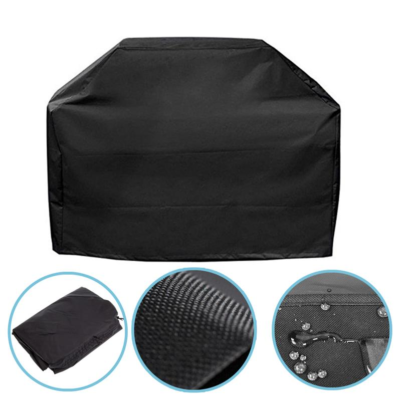 Waterproof BBQ Grill Barbeque Cover Anti Dust Protector For Gas Charcoal Electric Barbe Outdoor Rain Grill Barbacoa BBQ Covers