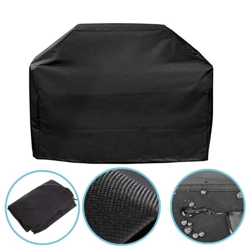À prova dwaterproof água churrasco grill capa anti poeira protetor para carvão a gás churrasqueira elétrica ao ar livre chuva grill barbacoa bbq cobre