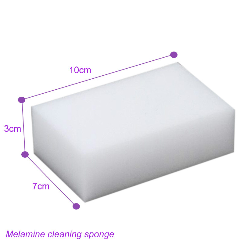 Image 4 - 30*70*100mm,melamine sponge 200 pcs Factory sale!High density miracle melamine dish cleaning sponge eraser white magic eraser 34-in Sponges & Scouring Pads from Home & Garden