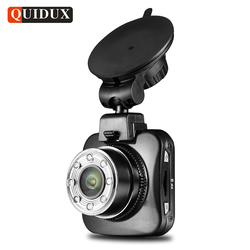 QUIDUX Full HD 1080P Car DVR 8 LED Night Vision  Novatek 96650 WiFi monitor Car Video Camera Recorder 170 wide angle G-sensor fashion casual straight uglybros incision ubs10 jeans motorcycle pants male moto pants protection for motorcycle pants
