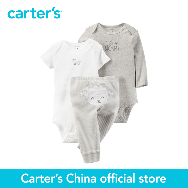Картера 3 шт. детские дети дети Маленький Набор Символов 126G460, продавец картера Китай официальный магазин