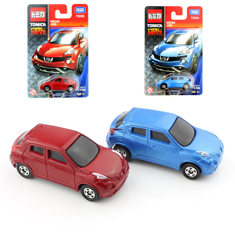 2pcs quality tomy mini tomica baby nissan juke diecast auto plastic models cars toys loose durable play cheap children for kids