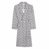 Mens Print Cotton Robe Kimono Homme Sleepwear Terry Bath Robes For Man Long Bathrobe Male Home