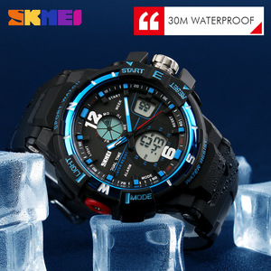 Image 5 - 2019 SKMEI G Style Fashion zegarek cyfrowy męskie zegarki sportowe zegarek wojskowy armii Erkek Saat odporny na wstrząsy zegar kwarcowy zegarek