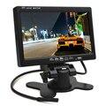 Hot Super Grande Venda! HD 800x480 7 Polegada Cor Ecrã LCD Monitor de Visão Traseira Do Carro Monitor Do Carro com HDMI + VGA Interface