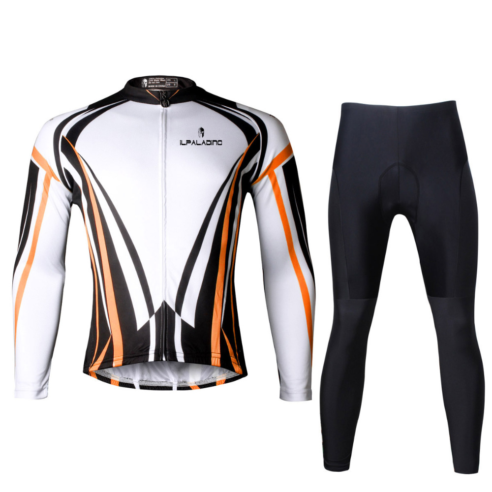 Cycling Jersey Men Outdoor Sports Cycling Clothing Men Breathable Long Sleeve Cycling Jersey Cycling Sets X708 wosawe men s long sleeve cycling jersey sets breathable gel padded mtb tights sportswear for all season cycling clothings