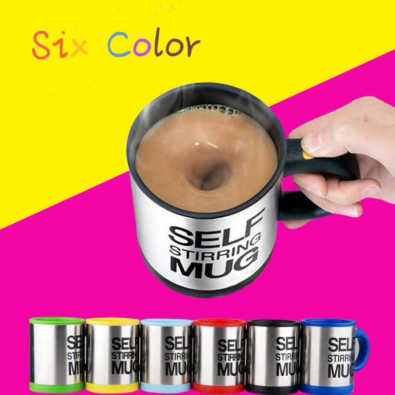 400 ML Self Stirring Coffee Cup Mugs Double Insulated Coffee Mug Automatic Electric Coffee Cups Smart