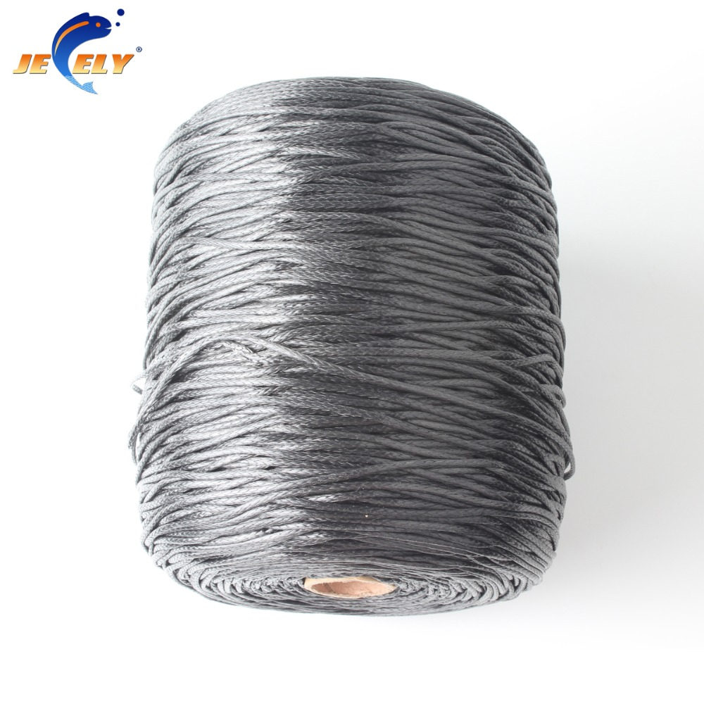 JEELY Paraglider Winch Rope UHMWPE Braid 12 strand 2.5mm 1500lb 50m Spectra WINCH ROPE цены
