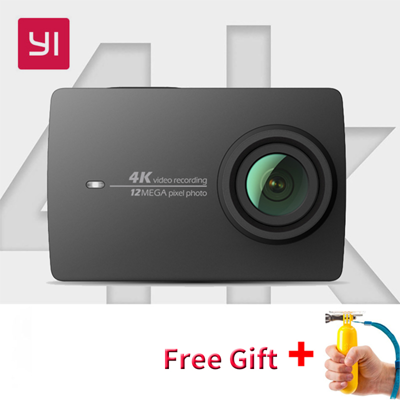 Xiaomi YI 4 K caméra d'action internationale Ambarella A9SE Mini caméra de sport 2.19