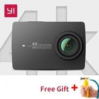 Xiaomi Yi 4k действие камера международных Ambarella A9SE мини спортивные камера 2,19 LDC экран 12MP 155 широкоугольный объектив LDC wi fi