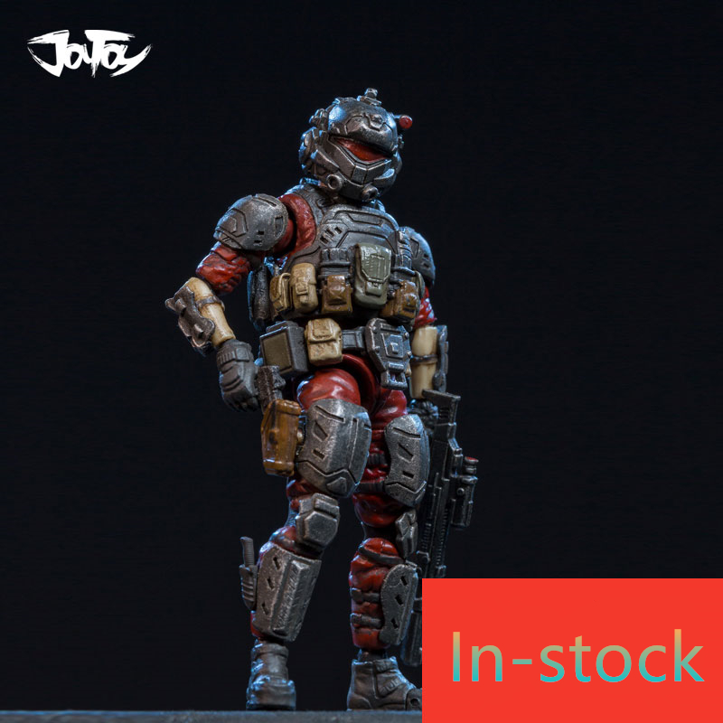 NEW JOY TOY 1: 25 soldiers Action Figure soldiers the Red Devil soldiers Holiday/Birthday Gift Free shipping RD025 free shipping genuine joy toy 1 27 action figure robot military soldier set a birthday present simple packaging
