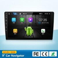9 дюйм(ов) автомобиль интеллектуальные gps Навигатор автомобиля многофункциональный инструмент большой Экран Android универсальный плеер неско