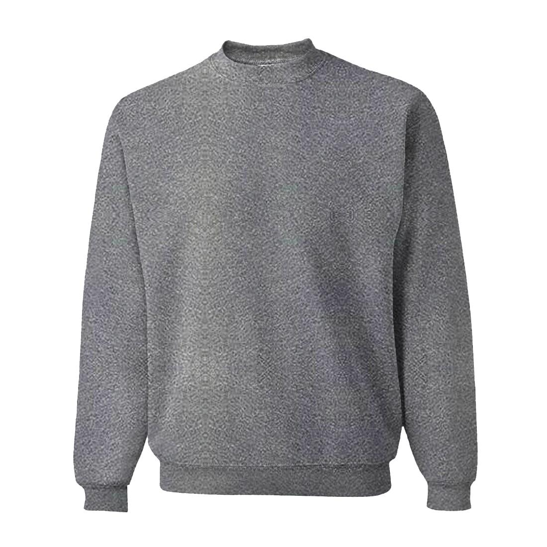 Fleece Solid Sweatshirt  3