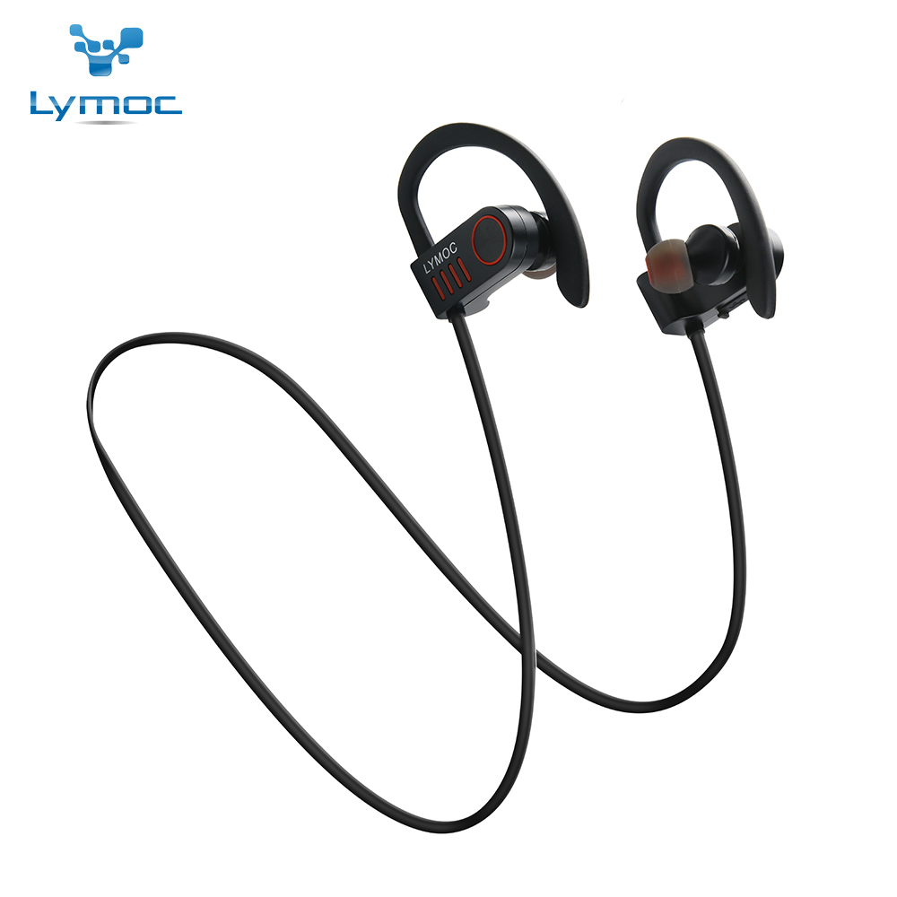 Lymoc M5 New Bluetooth Earphone Wireless Headset Sport Stereo Headphone V4.1 Mobile Music Handsfree Auriculares With HD Mic wireless bluetooth 4 1 earphone headphone for iphone samsung headset stereo sport studio music handsfree mic mp3 accessories