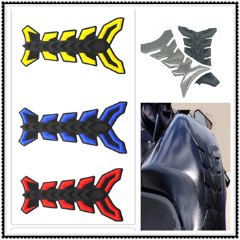 Motorcycle fish Sticker Pad Oil Gas Fuel Tank Cover Decal for SUZUKI GSR600 GSR750 GSX-S750 GSXR1000 GSXR600 GSXR750 image