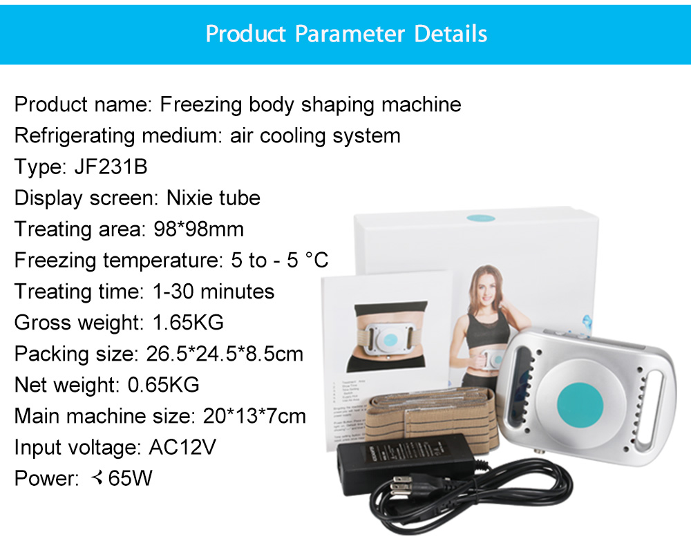 Fat Freezing Anti Cellulite Cryolipolysis Body Slimming Therapy Machine