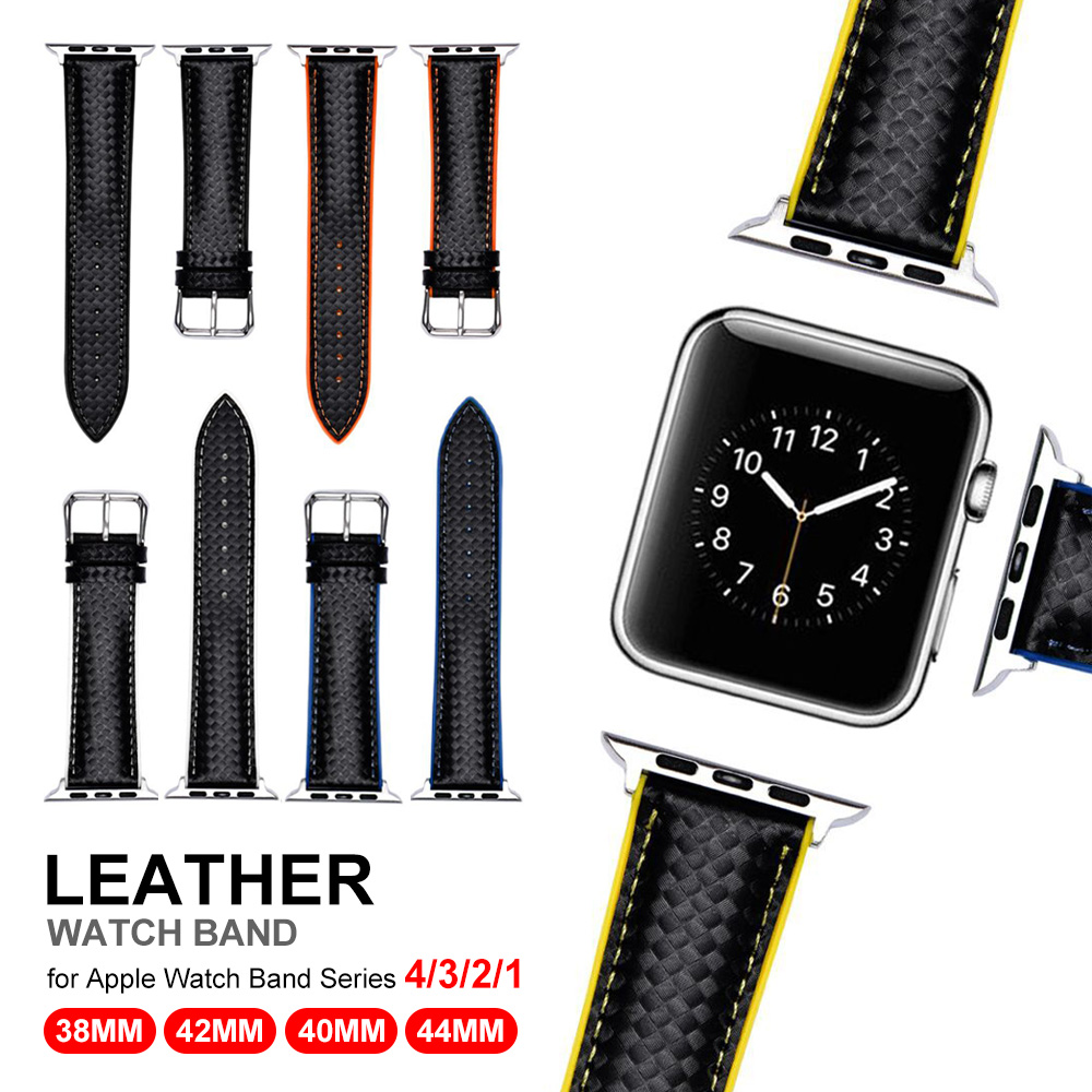 Leather ptuBracelet Belt Genuine Leather Band for Apple Watch 42/38MM 40/44MM  Replacement Strap for iWatch 4 3 2 1 WristbandLeather ptuBracelet Belt Genuine Leather Band for Apple Watch 42/38MM 40/44MM  Replacement Strap for iWatch 4 3 2 1 Wristband