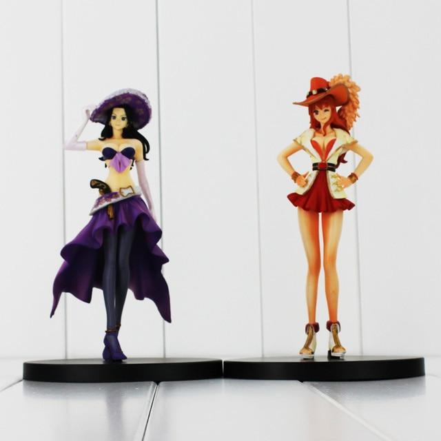 2Styles One Piece Anime Nami Nico Robin Ladies Figure Model Toys Dolls For  Girls 17CM OPFG411 ffe2c536d1ba