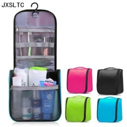 JXSLTC neceser Portable Cosmetic Bag Hanging Organizer makeup Bag Women's Bathroom shower Toiletry Washing Travel makeup Kit Bag
