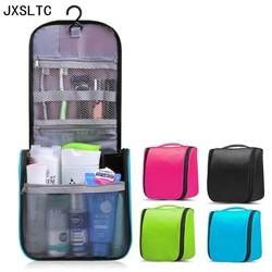 JXSLTC neceser Portable Cosmetic Bag Hanging Organizer makeup Bag Women's Bathroom shower Toiletry Washing Travel makeup Kit Bag