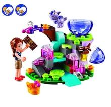 Um brinquedo de Um sonho BELA 83 pcs Amigos Emily Jones & o bebê Vento Dragão Modelo Building Blocks Toy 41171 Bricks definir Elfos Legoingly
