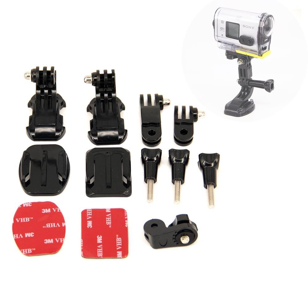 Accesorios para Sony Action Cam casco con precio directo B Modelo casco montaje frontal para HDR-AS300V AS100 AS200 AZ1 AS15 Fdr-X3000v