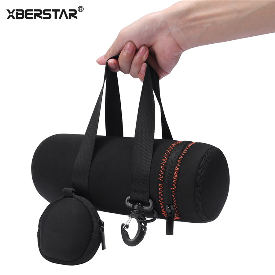 XBERSTAR Carry Case for JBL Pulse 3 Speaker and Charger Pouch Carry Soft Bag Hand Strap