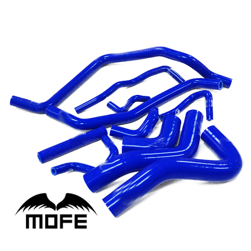 Mofe 11pcs Blue SIlicone heator  hose Kit for  Suzuki Swift 1.5 M15 M16 2004-2010