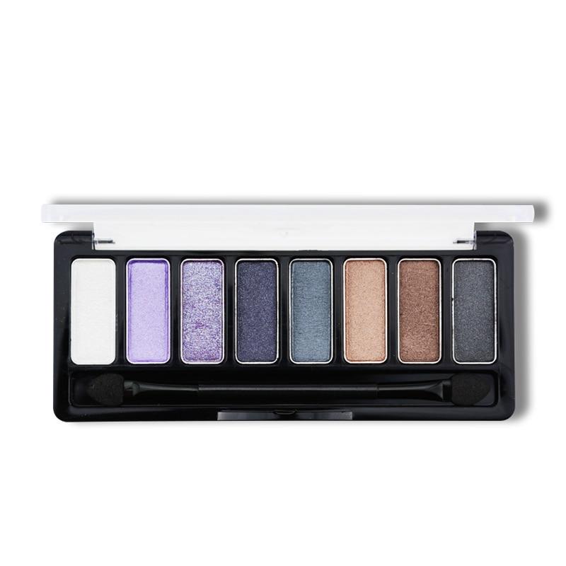 JOJO 8 Colors Eye shadow Palette in Shimmer Metallic Baked Eyeshadow Choose
