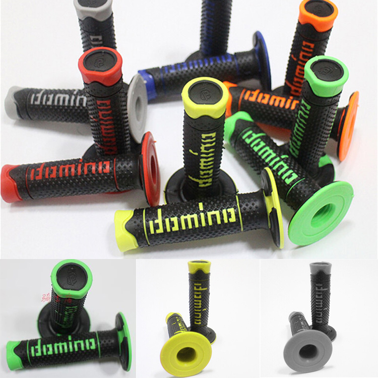 "7/8 ""22mm morbida gomma moto ATV fuoristrada moto scooter motocross maniglia bar dirt pit bike grip per KTM moto manubrio"