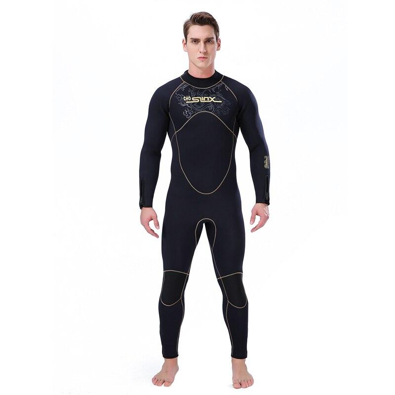 5MM néoprène hommes complet du corps hiver combinaison de plongée combinaison polaire doublure maillot de bain une pièce pour la plongée en apnée surf Triathlon