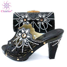 24a7b8316 New Fashion Shoes and Bag Set Matching for Wedding Women Shoes and Bag Set  In Italy